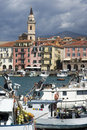 Fishing port of Imperia Oneglia, Italy Stock Photos