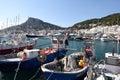 Fishing port of l'Estartit, Royalty Free Stock Photo