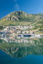 Fishing port and marin in castellammare del golfo sicily italy Stock Photo