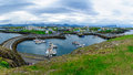 The fishing port, in Stykkisholmur Royalty Free Stock Photo