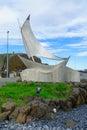 The fishing port, in Stykkisholmur Royalty Free Stock Photo
