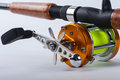 The fishing reel Royalty Free Stock Photo