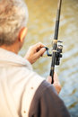 Fishing Rod and Reel Royalty Free Stock Image