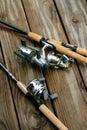 Fishing rods Royalty Free Stock Photo