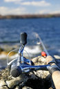 Fishing spring time Royalty Free Stock Image