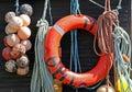 Fishing supplies Royalty Free Stock Photo