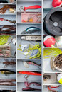 Fishing Tackle Box Royalty Free Stock Image
