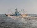 Fishing trawler, Holland Royalty Free Stock Photo