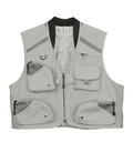 Fishing vest fly isolated on white Royalty Free Stock Image