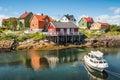 Fishing village Henningsvaer in Lofoten islands, Norway