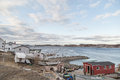 Fishing Village in Newfoundland Royalty Free Stock Photo