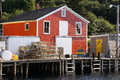 Fishing village of northwest cove nova scotia picturesque is situated on the south shore in st margarets bay on the aspotogan Stock Photos