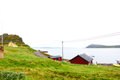 Fishing village in Norway Royalty Free Stock Photo