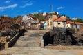 Fishing village preguica sao nicolau island cape verde cabo africa Royalty Free Stock Photo