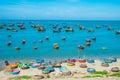 Fishing village, Vietnam Royalty Free Stock Photo