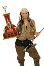 Fishing winner Royalty Free Stock Photo