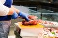 Fishmonger Royalty Free Stock Photo