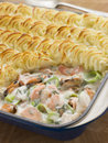 Fishmongers Pie Royalty Free Stock Images