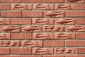 Fishy brickwork Stock Images