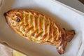 Fishy pie Royalty Free Stock Photo