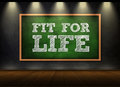 Fit for life Royalty Free Stock Photo