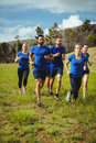Fit people running Royalty Free Stock Photo