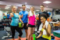 Fit People Smiling At Camera I...