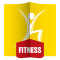 Fitness, aerobic concept Royalty Free Stock Photo