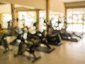 Fitness blurry background Royalty Free Stock Photo