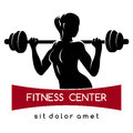 Fitness Center or Gym Logo