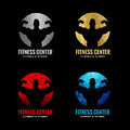 Fitness center logo