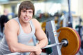 In fitness club Stock Photography
