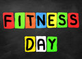 Fitness day Royalty Free Stock Photo