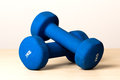 Fitness dumbbells Royalty Free Stock Images
