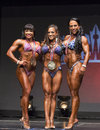 Fitness Gals Earn Their Medals Royalty Free Stock Photo