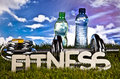 Fitness, gym, healthly lifestyle Royalty Free Stock Photo