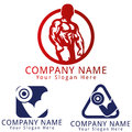 Fitness logo concept for your business eps ready Royalty Free Stock Photo