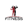 fitness silhouette character vector design temp