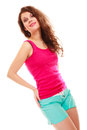 Fitness sport woman girl after workout gym