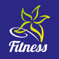 Fitness star abstract company.