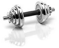 Fitness weights Royalty Free Stock Image