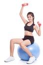 Fitness Woman Sport Training W...