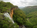 Fitzroy Falls Yarrunga Valley Southern Highlands Australia Royalty Free Stock Photo