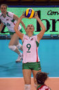 FIVB WOMEN'S VOLLEYBALL CHAMPIONSHIP - BULGARIA Royalty Free Stock Photo