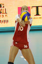 FIVB WOMEN'S VOLLEYBALL CHAMPIONSHIP - CZECH REP. Royalty Free Stock Photo