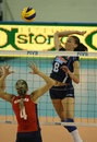 FIVB WOMEN'S VOLLEYBALL CHAMPIONSHIP - ITALY Royalty Free Stock Photo