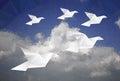 Five doves