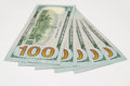 Five hundred dollars of the USA Royalty Free Stock Photo