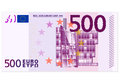 Five hundred euro banknote Royalty Free Stock Photography