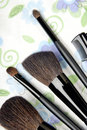 Five make-up tools Stock Photos